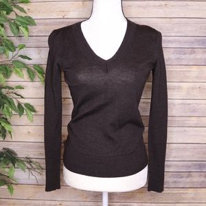 The Limited  V Neck Merino Wool Sweater Size Sm